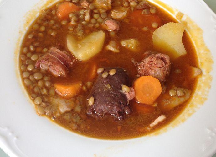 Lentejas las de mi Mami para #Mycook http://www.mycook.es/receta/lentejas-las-de-mi-mami