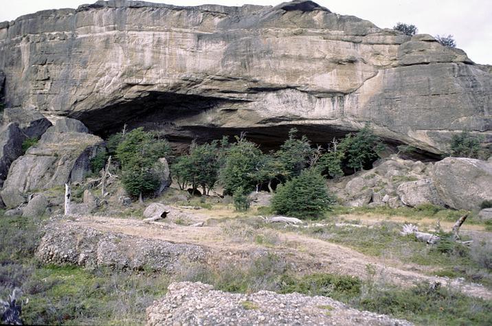 Cueva del Milodon cerca de puerto natales