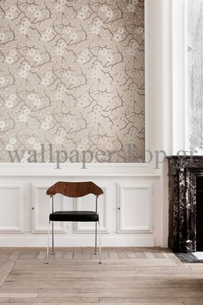 Wallpapers :: Romantic :: Silence :: Silence Poppy Almond No 7308 - WallpaperShop