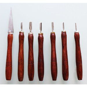 These are soap carving tools
