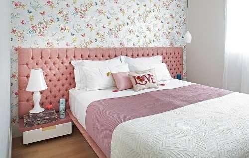 cabeceira painel estofada para cama-box queem 1.60x0.60cm