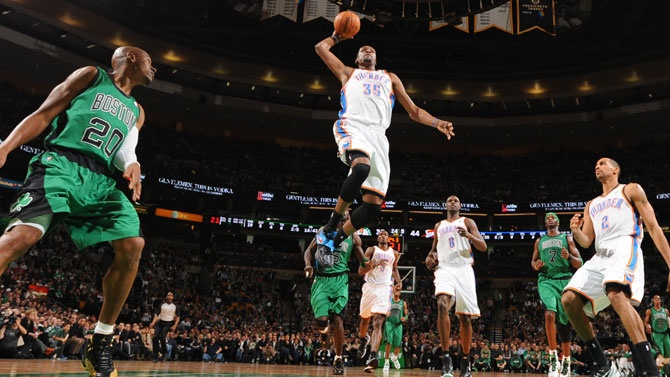 4 VIDEOS & Stats: Kevin Durant (28 Pts) & Russell Westbrook (26 Pts) Hand Celtics Fifth Straight Loss!