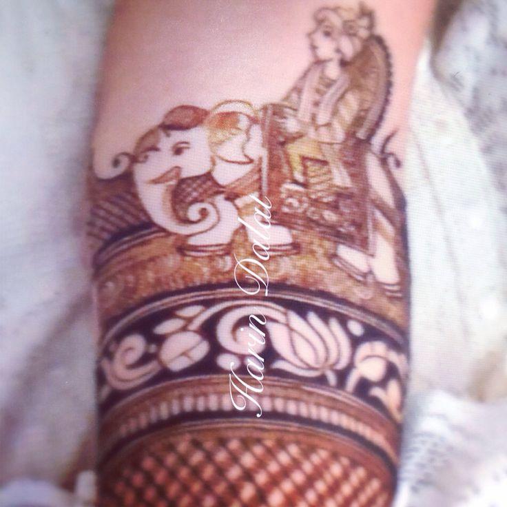 Bridegroom on elephant