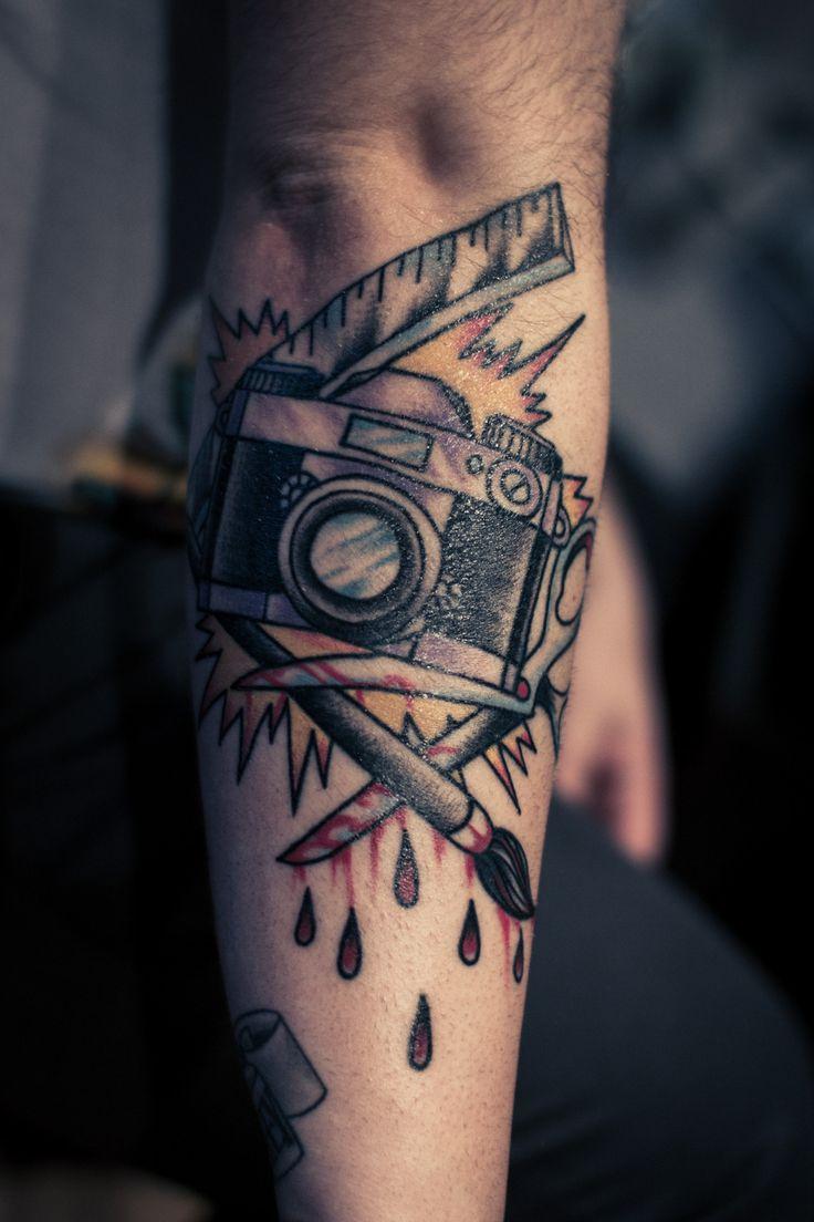 whoa badass tattoo by fabian nitz rose of no man s land berlin germany via fuckyeahtattoos. Black Bedroom Furniture Sets. Home Design Ideas