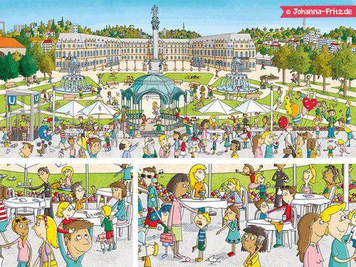 Beautiful Children us book Mein Stadt Wimmelbuch Stuttgart