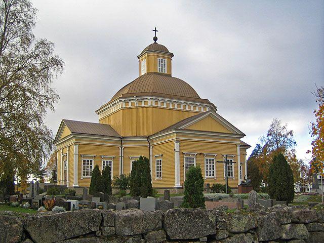 Isojoen kirkko. - kuva Johanna Forsius