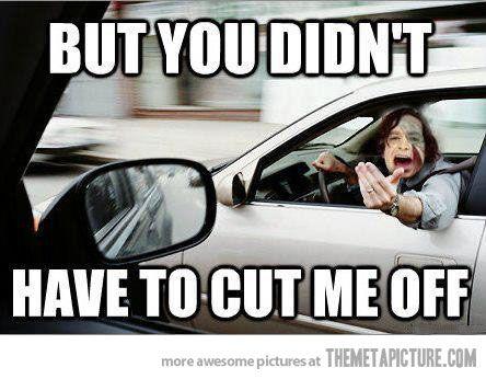 Gotye in traffic.