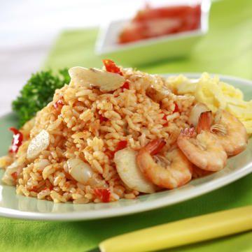 Sarapan Sehat Nasi Goreng Seafood