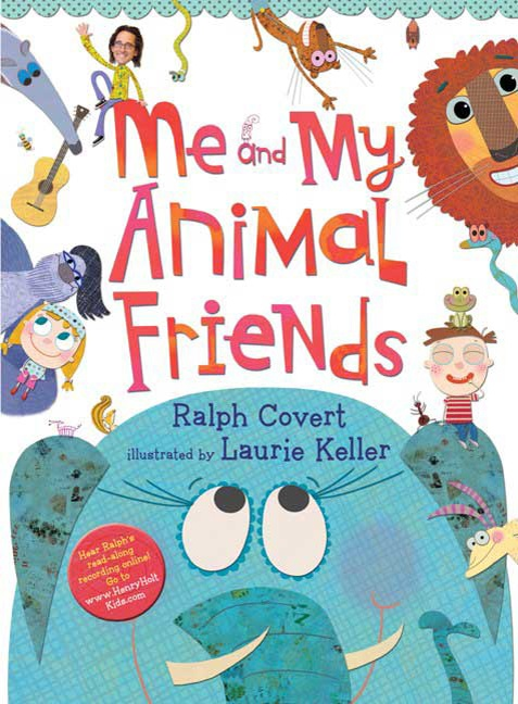 "Come to Ralph's World and join Ralph on a zany adventure across land and water in happy celebration of animal friends of all kinds. Family music rock star Ralph Covert's playful lyrics to his popular song ""Me and My Animal Friends"" are coupled with Laurie Keller's whimsical illustrations."
