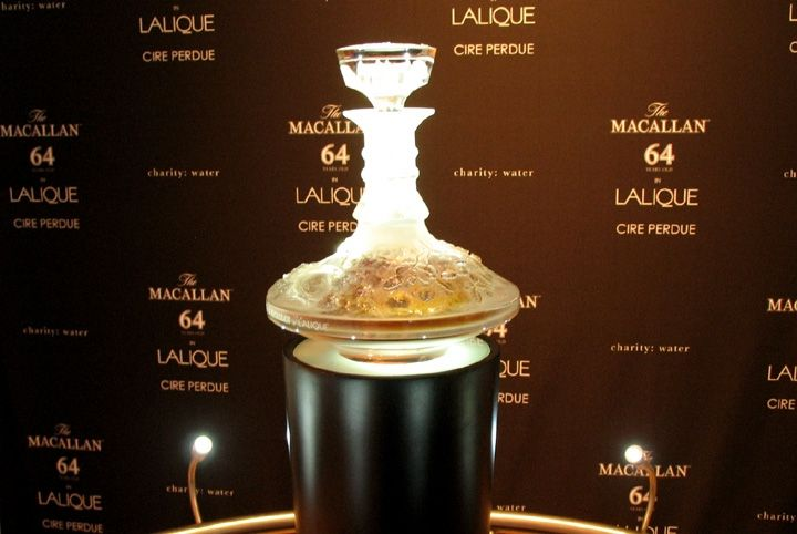 The Macallan 64 Year Old Lalique Cire Perdue