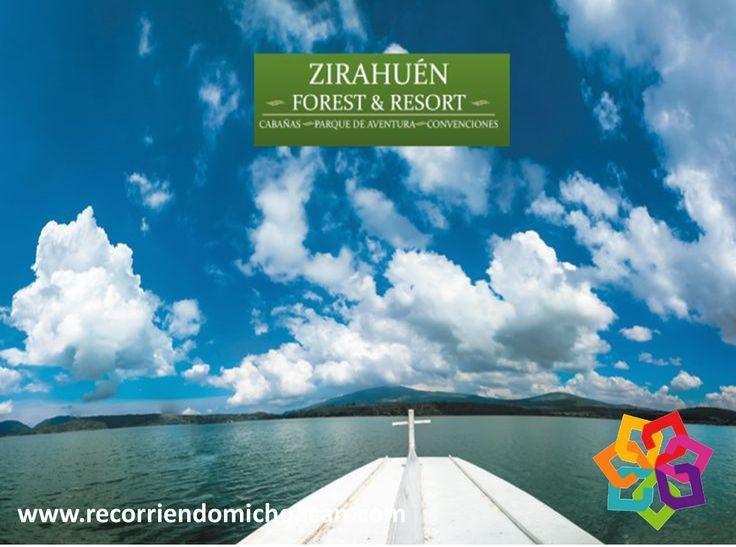 RECORRIENDO MICHOACÁN le invita a gozar de la Laguna de Zirahuén; en sus riveras se encuentran servicios turísticos que incluyen cabañas y restaurantes, donde se realiza el comercio de Truchas y pescado blanco. Es una zona verde impresionante que lo enamorará desde la primera visita. Hotel ZIRAHUÉN FOREST & RESORT. http://www.zirahuen.com/forest/