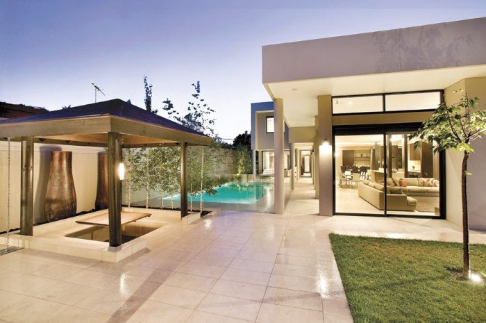 Garden, Pergola, Modern living, Modern Home, Family Home  Constructed by Classic Projects