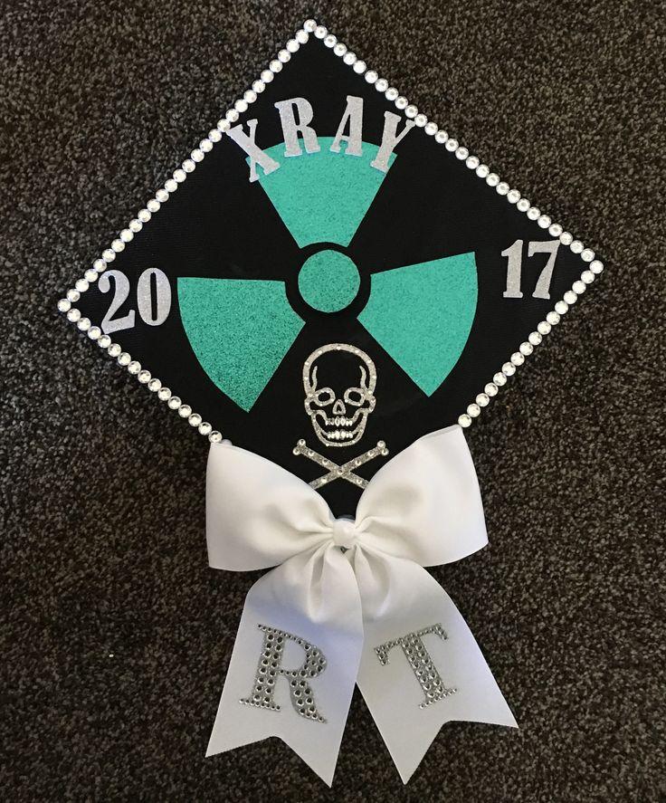 X-ray graduation cap #xray #radtech #radiologictechnologist #gradcap