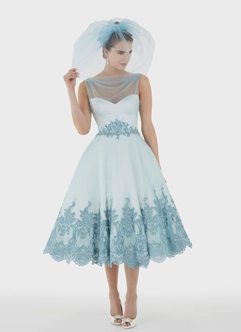 33 best Short Wedding Dresses images on Pinterest | Wedding frocks ...