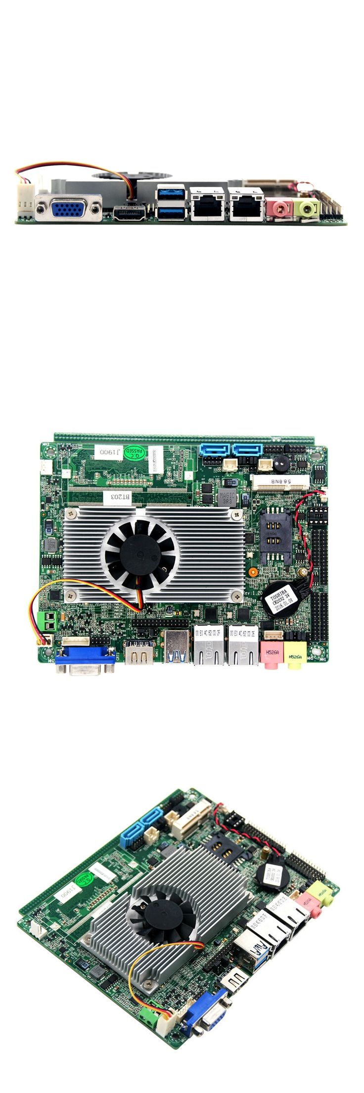 x86 embedded motherboard network router mainboard	with intel G4 J1800 CPU 4GB RAM 32GB SSD