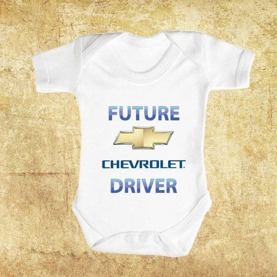 Future CHEVROLET Driver Brand New Baby Romper by ...