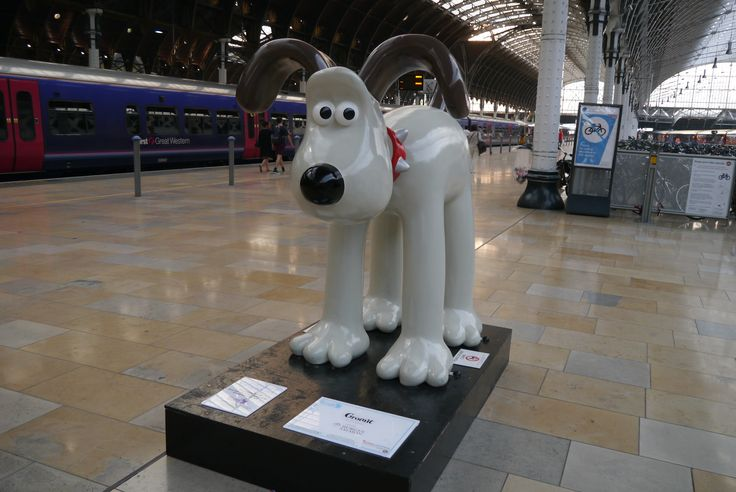 Gromit in Paddington!