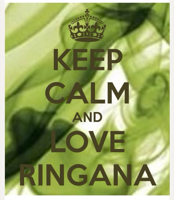 Keep calm and love Ringana