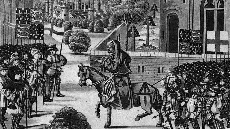 Melvyn Bragg examines the 1381 Peasants' Revolt, a pivotal moment in England's history. BBC Radio 4