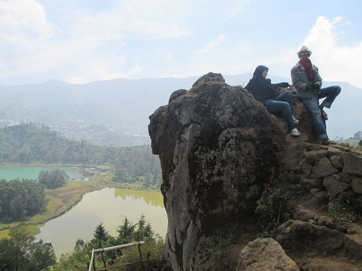 Color Lake from Batu Ratapan Angin (Stone Waiing Wind)