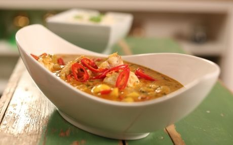 Monkfish Curry Recipe by Jonathan Phang