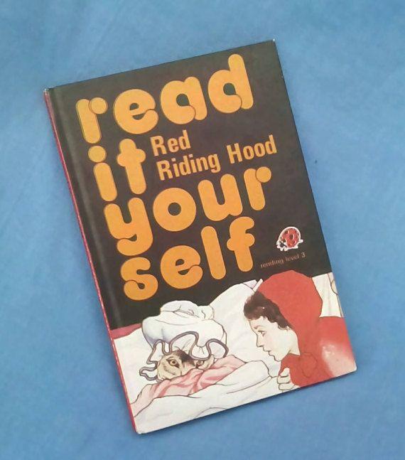 Red Riding Hood Vintage Ladybird Book Read It Yourself | Ladybird ...
