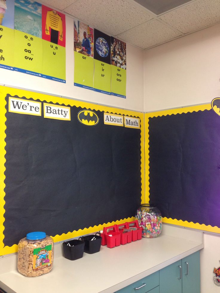 Classroom Alphabet Decor ~ Ideas about batman classroom on pinterest
