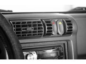 Rugged Ridge AC Vent Switch Pod with Switches for 97-06 Jeep Wrangler TJ, TJ Unlimited & Cherokee XJ