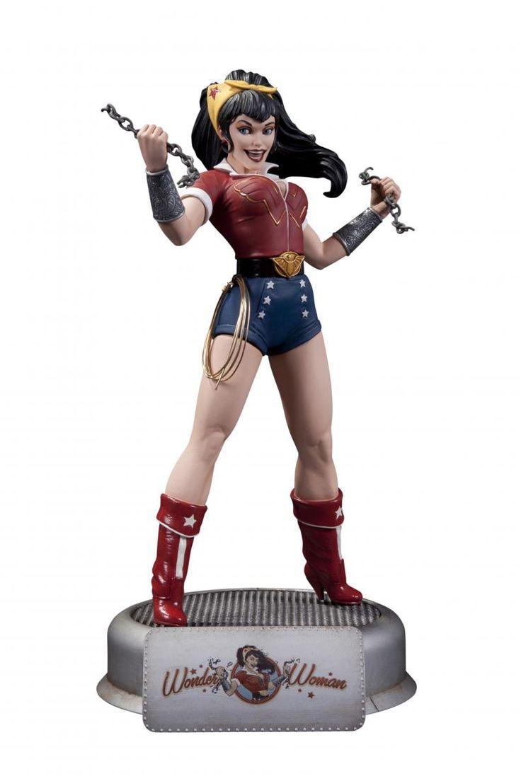 DC Bombshells Statue: Wonder Woman