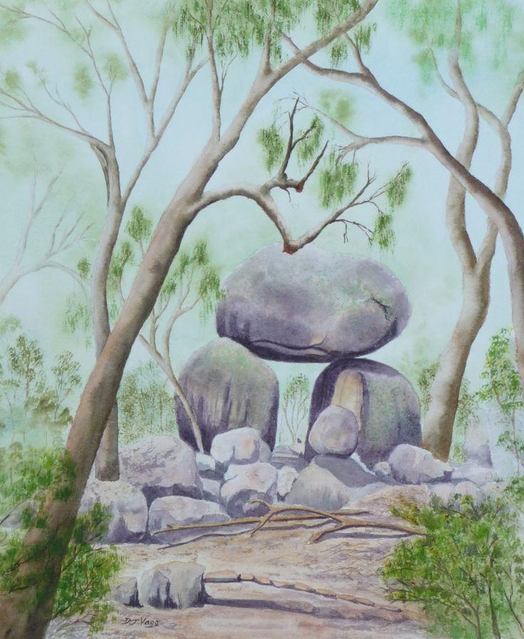 'Granite Rocks' near Stanthorpe Queensland. SOLD