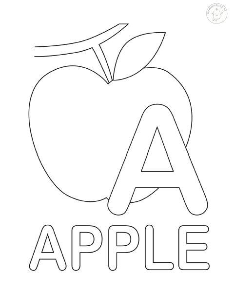 Раскраски с буквами английского алфавита | МАМА И МАЛЫШ