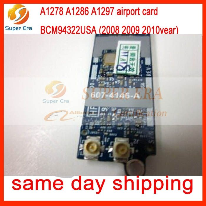 37.98$  Buy now - http://ali8hg.shopchina.info/go.php?t=32717517857 - BCM94322USA Original Wifi Card For Macbook Pro unibody A1278 A1286 A1297 WIFI Bluetooth Airport card 2008 2009 2010 37.98$ #aliexpresschina