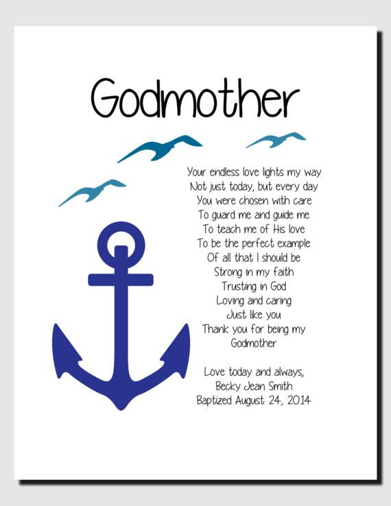 thank you being my anchor godparents - Google Search