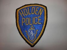 Holden, Ma. official police patch