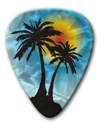 Tropical Guitar Picks
