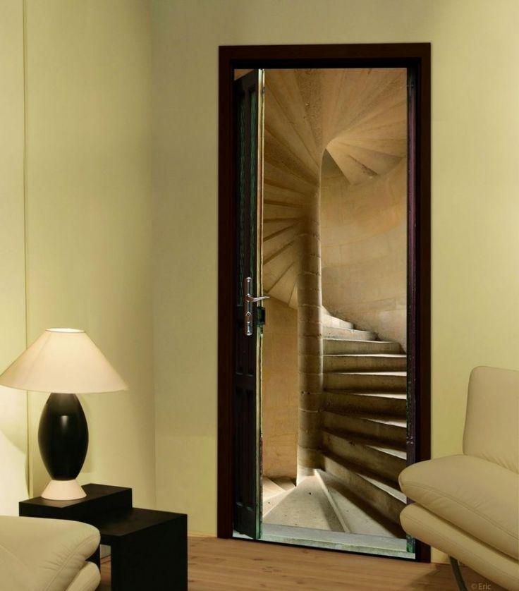 25 best ideas about trompe l oeil porte on pinterest. Black Bedroom Furniture Sets. Home Design Ideas