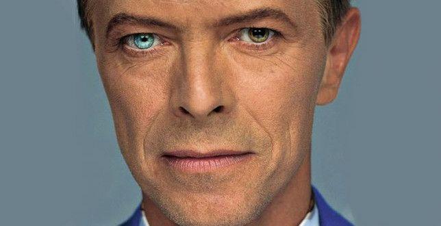 """David Bowie: """"In realtà mi sento più un pittore che un cantante""""."""