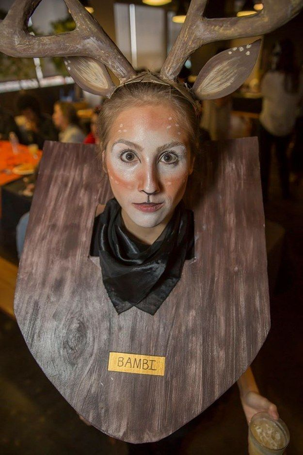 Bambi | 28 Insanely Clever Halloween Costumes You Can Make Yourself
