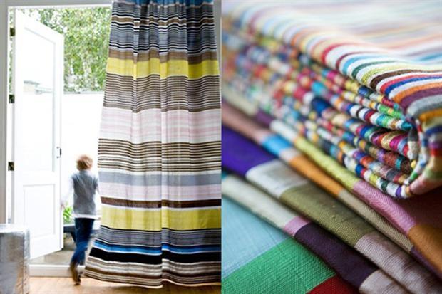 Propuestas de estampados para cortinas | Weblog Mi Espacio | ESPACIO LIVING: Colour, Colors, Beautiful Fabrics, Textiles, Stripes