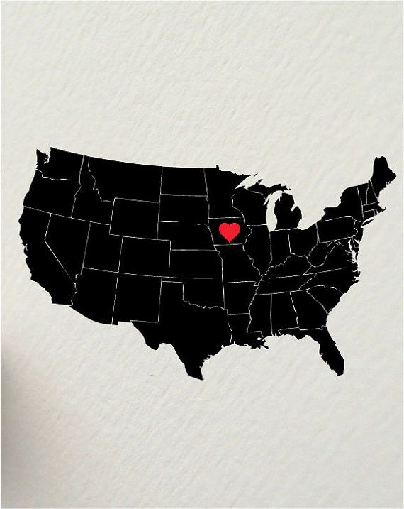 We may be small, but Iowa has a lot of heart!