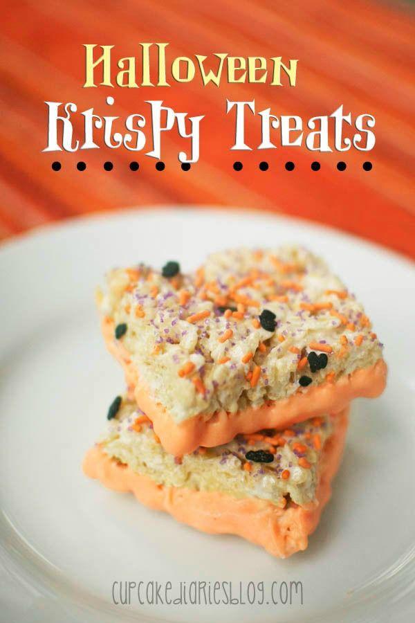 Halloween Krispy Treats