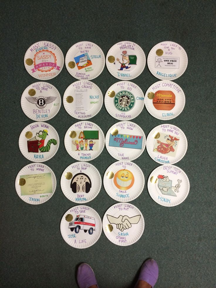 Paper Plate Awards
