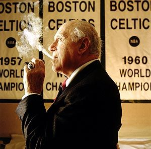 BST's Classic Photo Of The Day: Red Auerbach #boston #celtics #nba