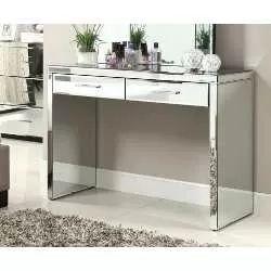 aparador de espelho ou vidro pintado com 2 gavetas lindo!!