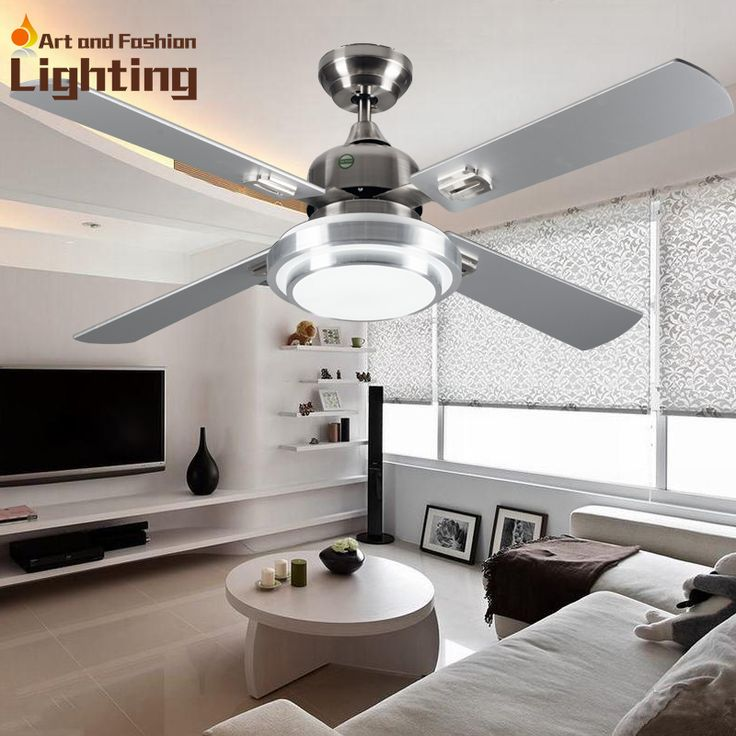 super quiet ceiling fan lights large 52 inches modern ceiling fan lamp living room bedroom dining