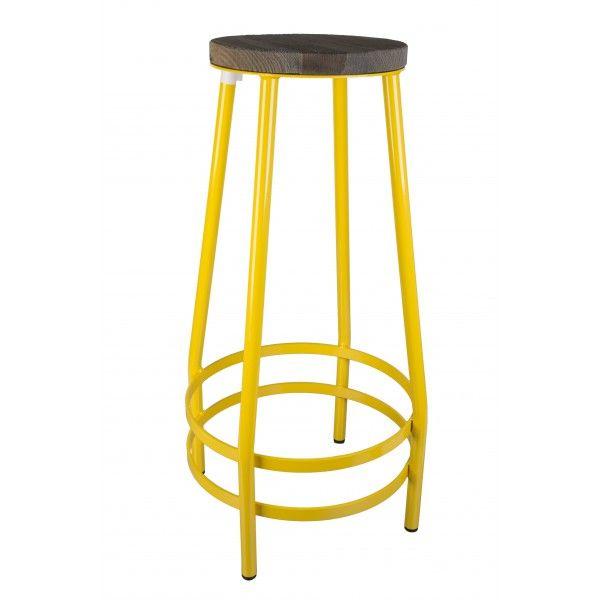 Ber ideen zu barhocker aus metall auf pinterest for Barhocker gelb