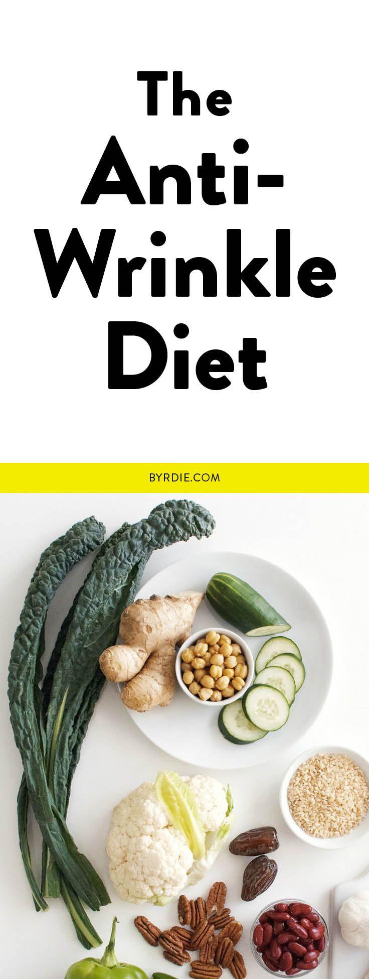 The anti-wrinkle diet.