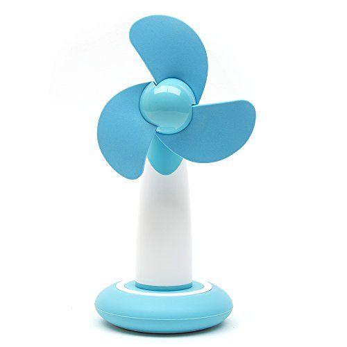 5V 2.5W Ventilateur en Plastique Portable Usb Mini - Ventilateur de Refroidissement Climatiseur Mini ventilateur à la maison au bureau avec…