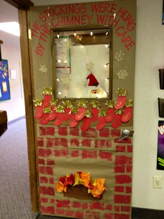 25 best ideas about christmas door decorations on pinterest