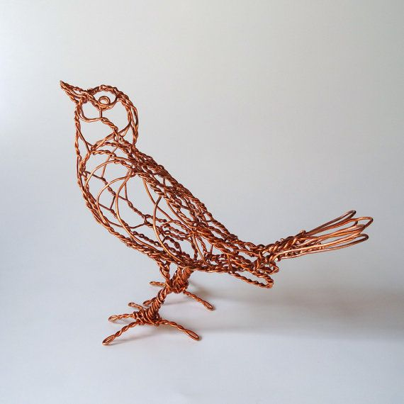 Copper Wire Art : Best images about wire sculpture on pinterest black